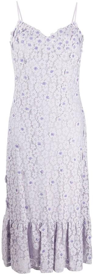 MICHAEL Michael Kors Floral Midi Dress
