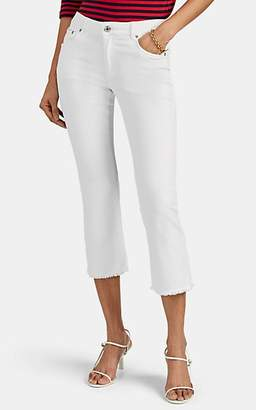 Care Label Women's Cigar Bell Crop Jeans - White
