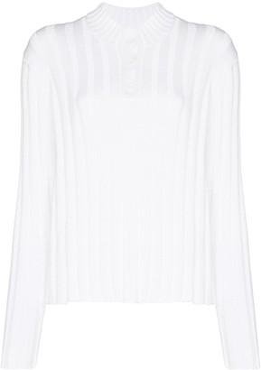 RtA Abigail ribbed-knit jumper