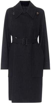 Rick Owens Drella cotton and wool trench coat
