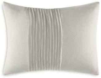 """Vera Wang Ripple Tucks Decorative Pillow, 12"""" x 16"""""""