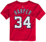 Majestic Toddlers' Bryce Harper Washington Nationals Player T-Shirt