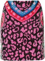Manish Arora sequin mini skirt