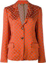 Etro printed blazer - women - Viscose/Polyimide/Spandex/Elastane - 44