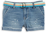 Imperial Star Girls 7-16 Girls Belted Shorts