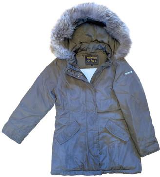 Woolrich Khaki Polyester Jackets & Coats