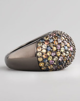 MCL by Matthew Campbell Laurenza Stardust Pave Sapphire Ring, Multicolor