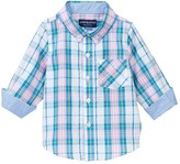 Andy & Evan Plaid Long Sleeve Shirt (Baby Boys)