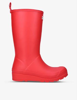 Hunter Original Play tall rubber wellington boots