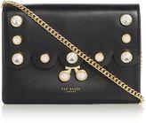 Ted Baker Saraa scalloped pearl detail crossbody bag