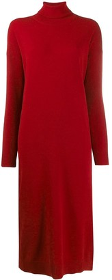DSQUARED2 Turtleneck Sweater Dress