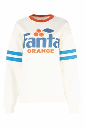Marc Jacobs Sequinned Fanta Logo Sweater