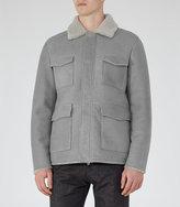 Reiss Revalstoke Shearling Jacket