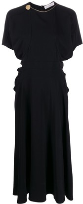 Victoria Beckham batwing midi dress