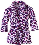 Komar Kids Girls 7-16 Leopard Too Robe