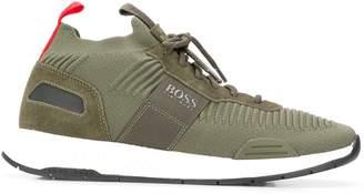 BOSS logo low-top sneakers