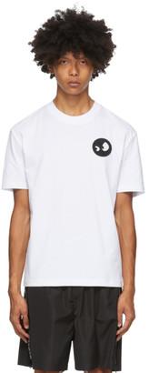 McQ White Monster Badge T-Shirt