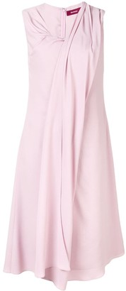 Sies Marjan Draped V-Neck Dress
