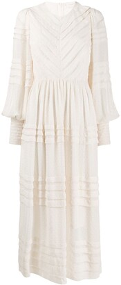 Zimmermann pleat front dress