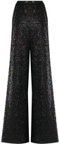 Missoni sequined flared trousers