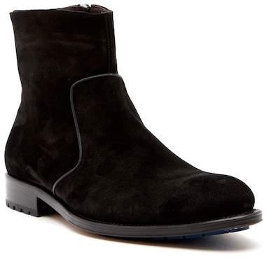 Mezlan Plain Toe Mini Lug Boot