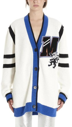 MSGM Motif Patch Cardigan