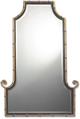 Uttermost Himalaya Iron Bamboo Mirror