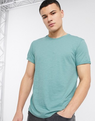 Esprit loose fit organic t-shirt in green