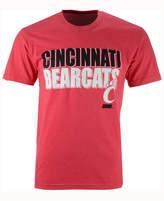Colosseum Men's Cincinnati Bearcats Wordmark Stack T-Shirt