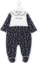 Armani Junior duck print pyjamas