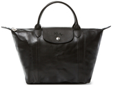 Longchamp Le Pliage Cuir Small Tote