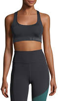 Under Armour Threadborne Scoop-Neck Crossback Sports Bra