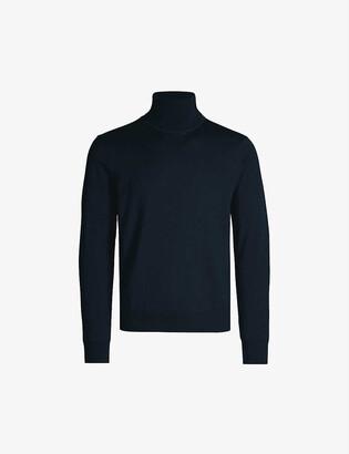 Sandro Turtleneck fine-knit wool jumper