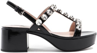 Miu Miu Sandal Patent