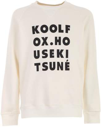 MAISON KITSUNÉ Sweatshirt Crew Neck Kool Fox