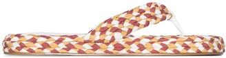 Zimmermann Braided Flip Flops