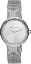 Armani Exchange A|X Women's Liv Stainless Steel Mesh Bracelet Watch 38mm AX4501