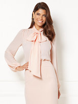New York & Co. Eva Mendes Collection - Isabella Bow Blouse