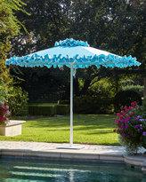 Santa Barbara Designs Paseo Aqua Outdoor Market Umbrella