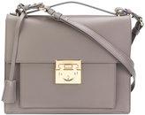 Salvatore Ferragamo Gancio satchel - women - Calf Leather - One Size