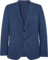 Officine Generale Cotton and Linen-Blend Blazer