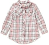 Levi's s Little Girls 2T-6X Plaid Western Dress