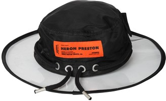 Heron Preston Pvc & Nylon Rain Hat