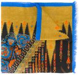 Etro abstract print scarf - women - Modal/Cashmere - One Size