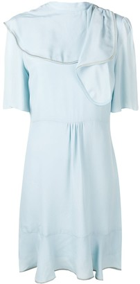 See by Chloe Draped Neck Dress