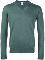 Eleventy v-neck trim jumper