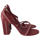 Christian Dior Red Leather Heels