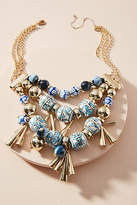 Anthropologie Alice Springs Bib Necklace