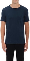 Theory MEN'S GASKELL COTTON T-SHIRT-NAVY SIZE L