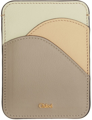 Chloé Grey Walden Card Holder